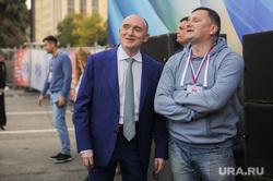 Почетные граждане города на праздничном концерте. Челябинск, улыбка, дубровский борис, федечкин дмитрий