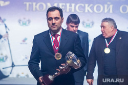 Спортивная элита-2014. Тюмень, награждение, кубок, руцинский андрей, медаль