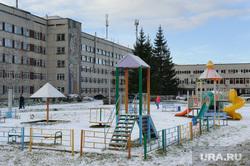 Открытие после реконструкции отделения восстановительного лечения ДГКБ №9. Екатеринбург, детская площадка, дмб9, дгкб9, детская городская клиническая больница