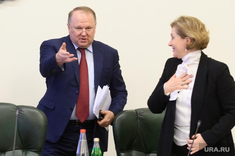Совещание в полпредстве с главами регионов УрФО по экологии. Екатеринбург, попова анна, цуканов николай