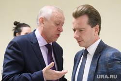 Совещание в полпредстве с главами регионов УрФО по экологии. Екатеринбург, тефтелев евгений, бурматов владимир