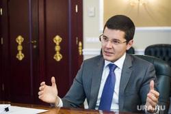 Интервью с врио губернатора ЯНАО Дмитрием Артюховым. Салехард, артюхов дмитрий, жест двумя руками