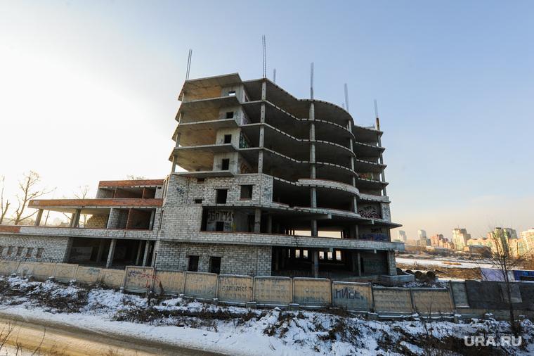 Будущие гостиницы к саммитам ШОС и БРИКС. Челябинск, долгострой, недострой, улица свободы4