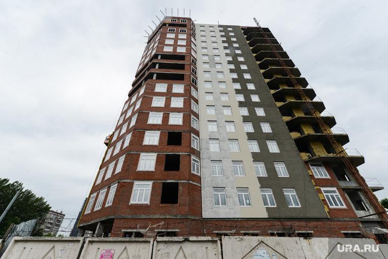 Строительство объектов к саммитам ШОС и БРИКС. Челябинск, стройка, строительство, улица курчатова 28