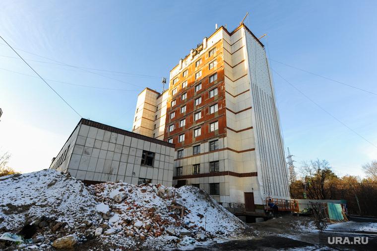 Стройки к саммитам ШОС и БРИКС. Челябинск, профилакторий на лесопарковой