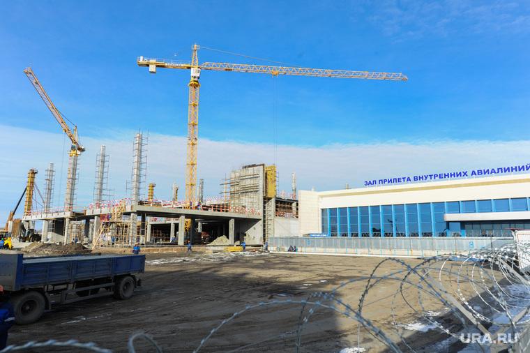 Стройки к саммитам ШОС и БРИКС. Челябинск, строительство аэропорта