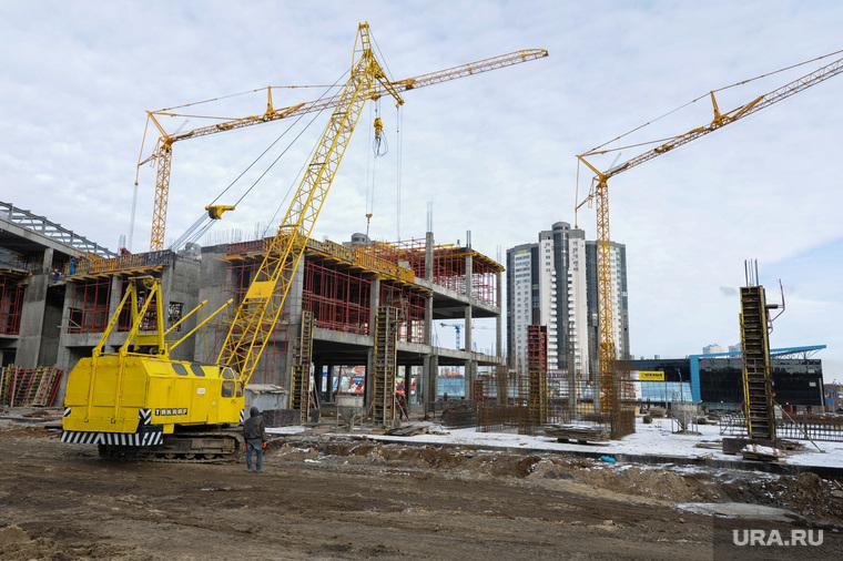 Стройки к саммитам ШОС и БРИКС. Челябинск, конгресс-холл таганай2020