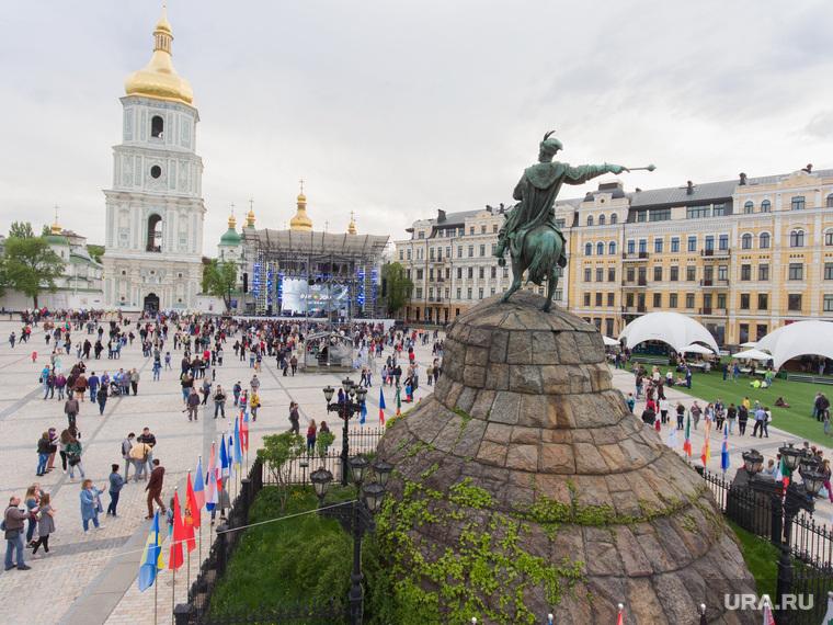 Клипарт depositphotos.com, церковь, киев, украина, софийская площадь