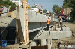 Визит Евгения Куйвашева в Нижний Тагил, строительные работы, река тагил, улица фрунзе, строительство моста