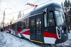 Демонстрация новых моделей трамваев в Западном трамвайном депо. Екатеринбург, общественный транспорт, трамвай