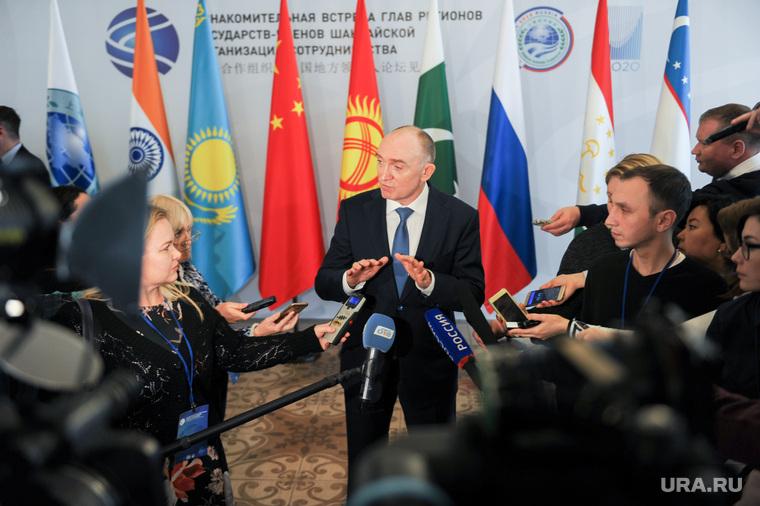 Ознакомительная встреча глав регионов государств - членов ШОС. Челябинск , сми, дубровский борис