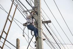 Клипарт, электрик, электричество, электросети