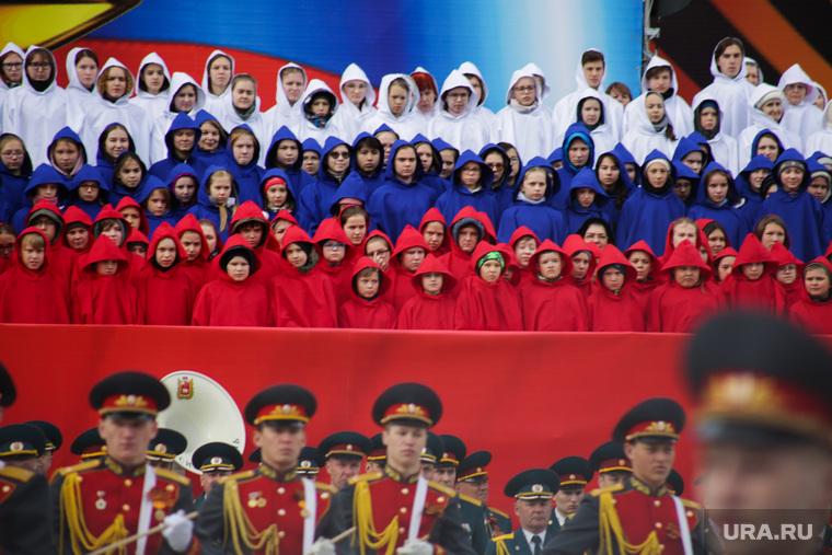 Парад 9 мая. Пермь, выступление, парад победы, триколор