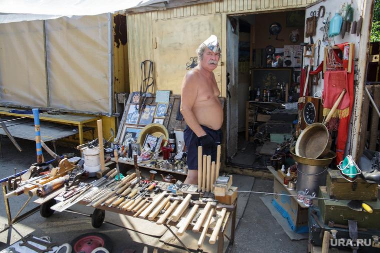 Антикварный рынок. Пермь, уличная торговля, антикварный рынок