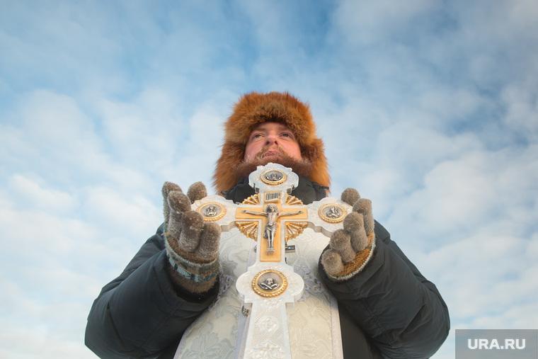 Праздник Крещения. Крестный ход и крещенские купания. Сургут, православие, христианство, вера, религия, купель, освящение, ритуал