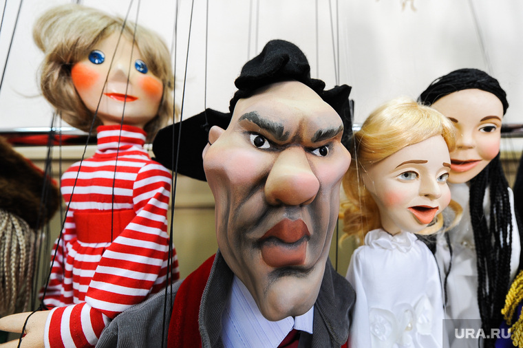 "Театр марионеток ""Малышок"", репетиция спектакля ""Малыш и Карлсон"". Челябинск, театр, куклы, валуев николай, марионетки"