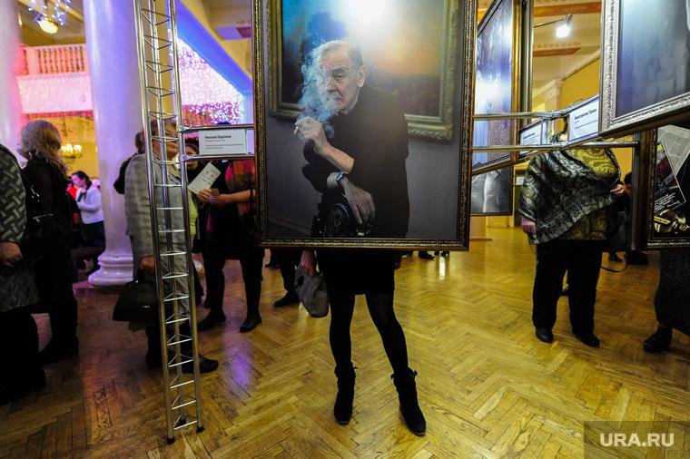 Открытие выставки Шефер Анжелы и Сергея Александрова Борисом Дубровским. Челябинск, фотовыставка