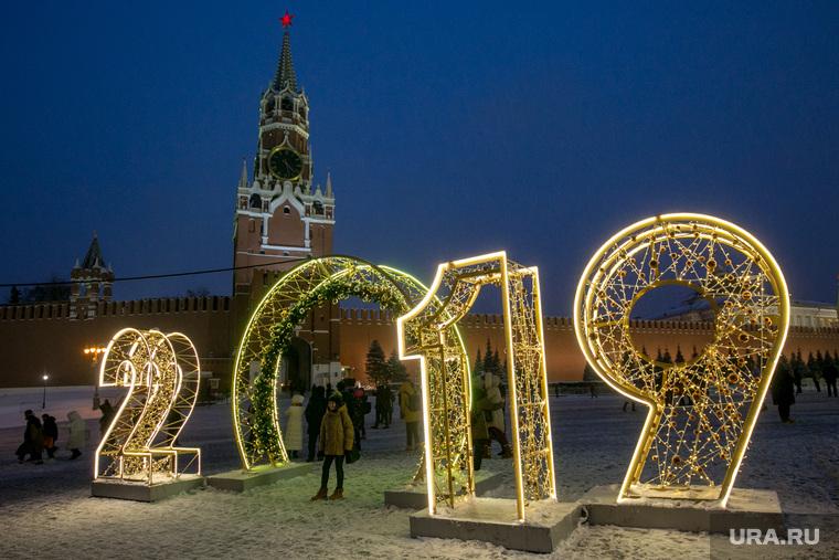 Новогодняя елка в Кремле. Москва, кремль, новый год, 2019, спасская башня