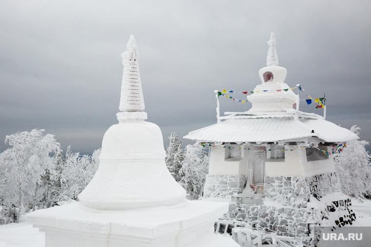 Буддистский монастырь Шедруб Линг. Качканар, буддизм, ступа, шедруб линг
