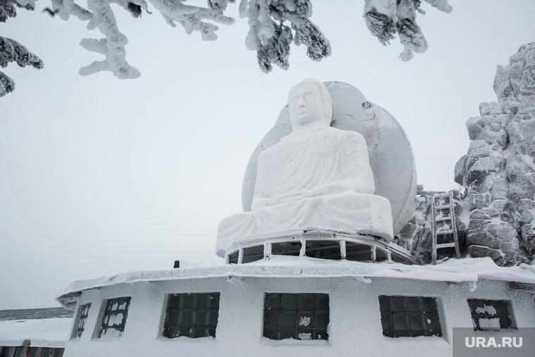 Буддистский монастырь Шедруб Линг. Качканар, будда, шедруб линг, статуя будды