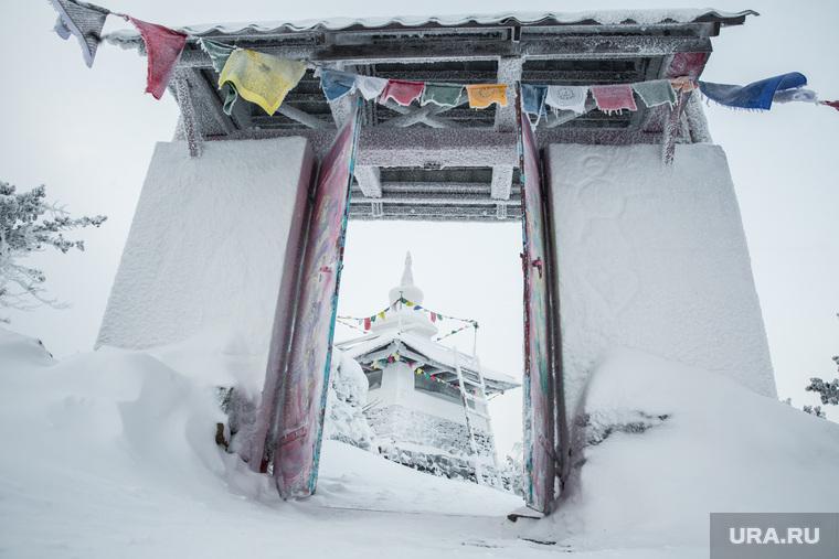 Буддистский монастырь Шедруб Линг. Качканар, шедруб линг, ступа буддистская