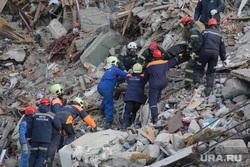 Взрыв бытового газа в доме № 164 на проспекте Карла Маркса. Часть 7. Магнитогорск, спасатели, разбор завалов