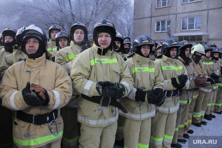 Завершение спасательной операции на проспекте Карла Маркса, 164. Магнитогорск, мчс, пожарные