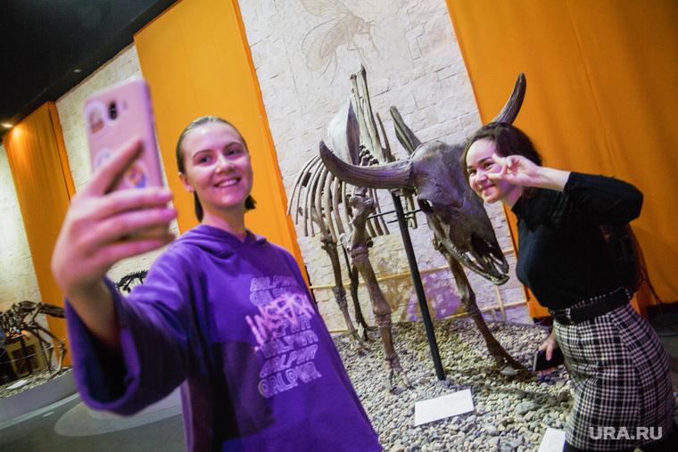 Бесплатный день в Музее пермских древностей. Пермь, скелет, селфи, музей древностей