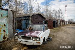 Рабочий визит Члена Центрального штаба ОНФ Калининой Светланы в поселок ГПЗ. Сургут, жигули, лада, гаражи, автохлам, ваз 2106