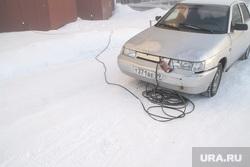 Мороз и ледяной туман. Салехард. 31 января 2019 г, мороз, обогрев авто