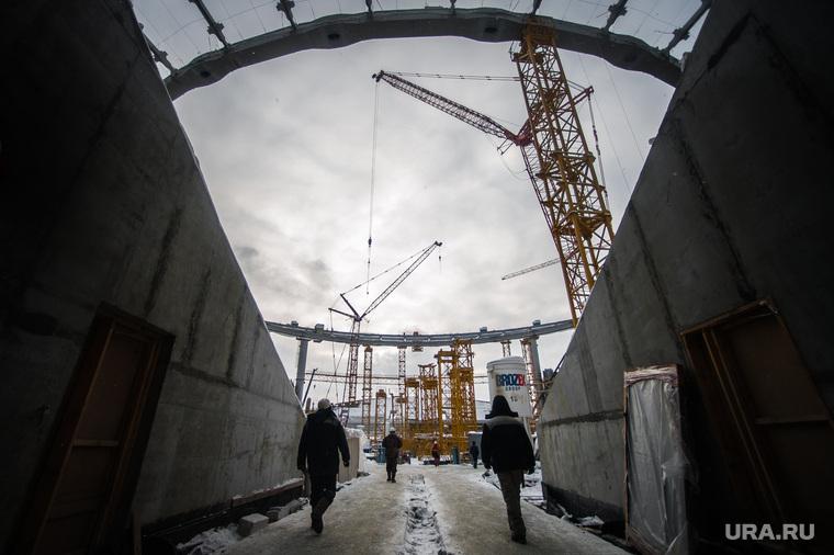Реконструкция Центрального стадиона. Екатеринбург, строительная площадка, стройка, екатеринбург арена, реконструкция центрального стадиона
