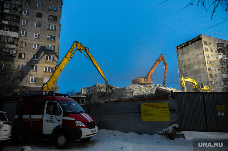 e90fd92cafc2c 40-й день взрыва в Магнитогорске. Здесь работает 100 следователей ...