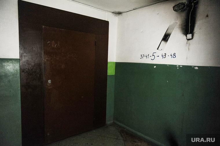 Магнитогорск. Дом со взрывом. РасследованиеЧелябинская область, дверь закрыта, общежитие, подъезд, в подъезде
