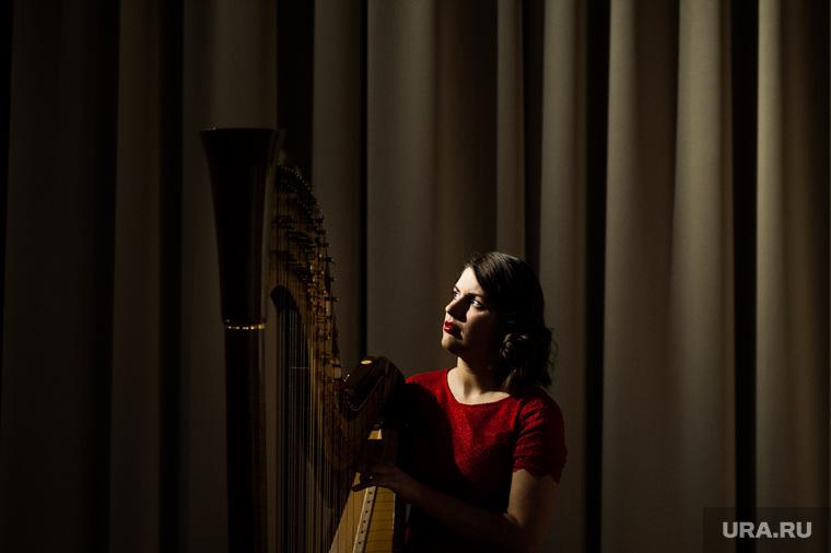 Традиционный арфовый концерт в честь Дня всех влюбленных. Екатеринбург