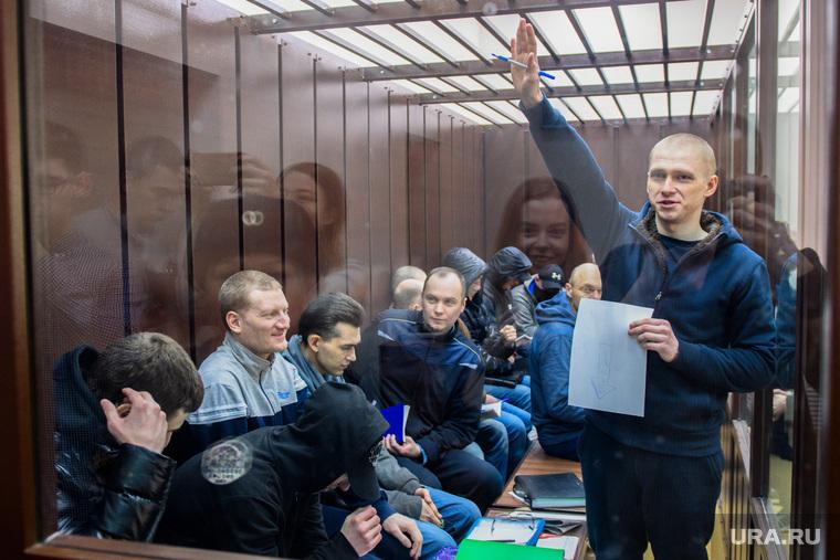 Заседание по делу хакерской группы Lurk. Екатеринбург