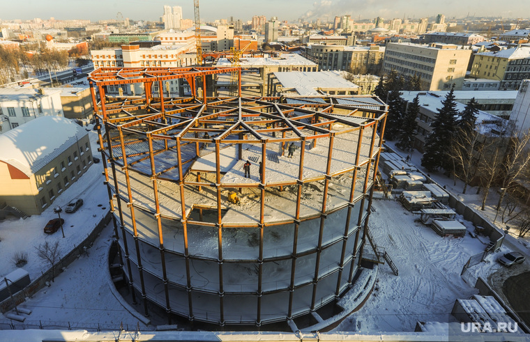 Стройка на улице Васенко 94. Челябинск, стройка, улица васенко 94, долгострой
