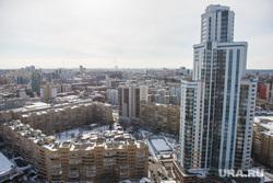 Екатеринбург с крыши здания правительства СО, жк февральской революции