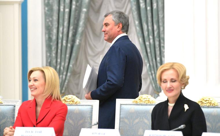 Владимир Путин, Песков, Шойгу, правительство , вячеслав володин