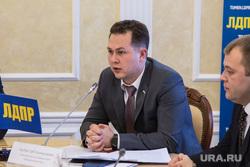 Пресс-конференция Владимира Сысоева , депутата государственной думы. Тюмень, трубин глеб