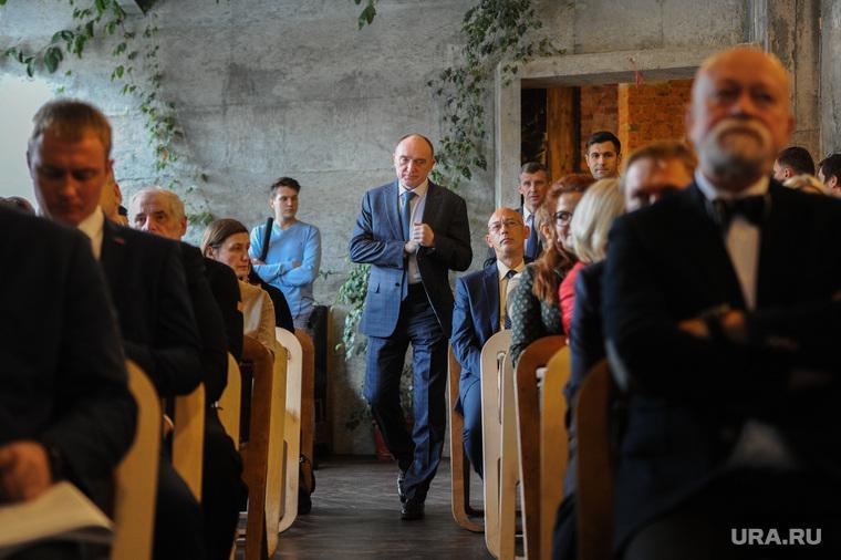 Презентацию итогов первого «исследовательского» этапа концепции благоустройства города Челябинска, дубровский борис
