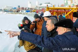 Рабочий визит Виталия Мутко на строительство объектов саммитов ШОС и БРИКС. Челябинск