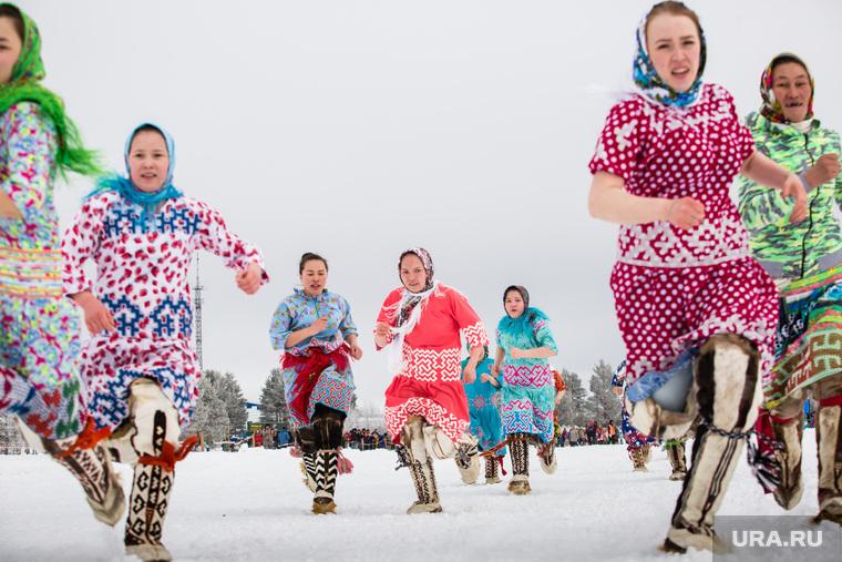 Национальный праздник «Слёт оленеводов, рыбаков и охотников» в деревне Русскинская, Сургутского района.