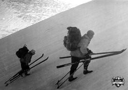 Поход Игоря Дятлова 1958 года на Приполярный Урал. Архив Петра Бартоломея, фото Дятлова