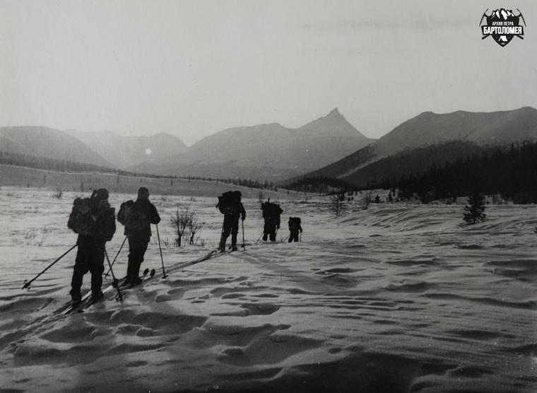 Поход Игоря Дятлова 1958 года на Приполярный Урал. Архив Петра Бартоломея, фото Петра Бартоломея