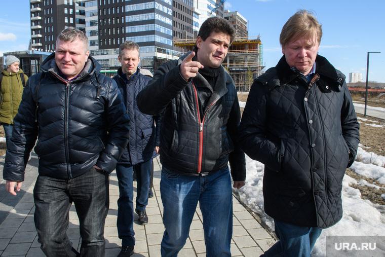 Александр Высокинский проверяет уборку районов. Екатеринбург, высокинский александр, рудометов роман