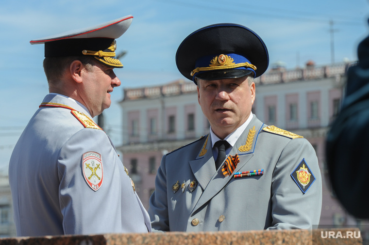Парад Победы, торжественное построение на Площади революции. Челябинск, силовики, сергеев андрей, никитин юрий