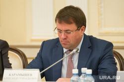 Президиум в резиденции губернатора по строительству жилья для сирот. Екатеринбург