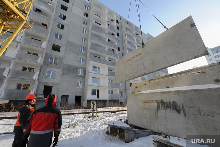 Новостройки Речелстрой и Гринфлайт. Челябинск, строители, дом, речелстрой, стройка