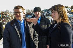 Рабочая поездка врио губернатора Алексея Текслера в Коркино и Полетаево. Челябинская область