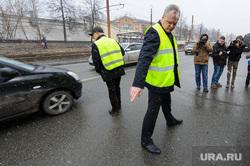 Выезд рабочей группы по дорогам города с Дмитрием Микуликом. Челябинск